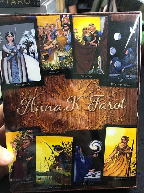 Anna K Tarot (deck & book)