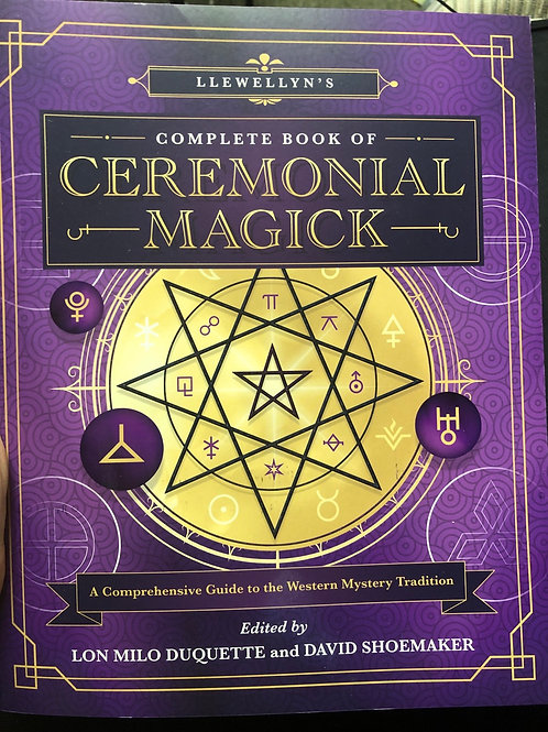 Complete Book of Ceremonial Magick (soft cover)