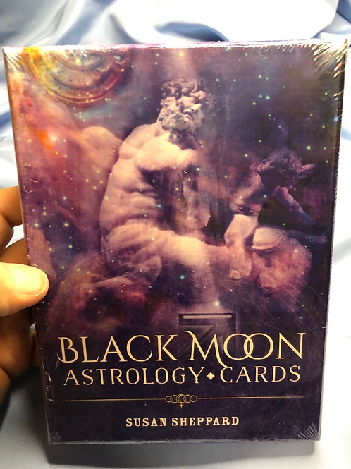 Black Moon Astrology Oracle Cards