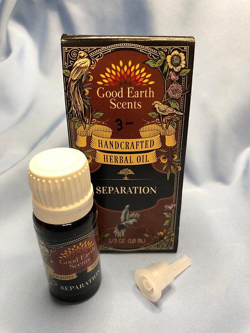 Seperation Herbal Oil