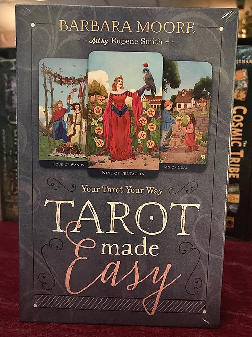 Tarot Made Easy Deck & Book Set