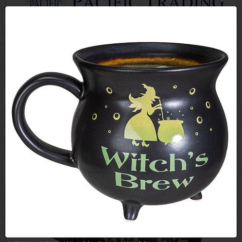 Witch's Brew Cauldron Mug