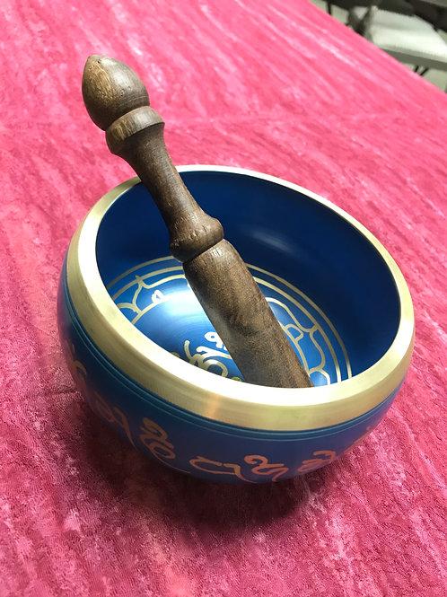 Singing Bowl Blue