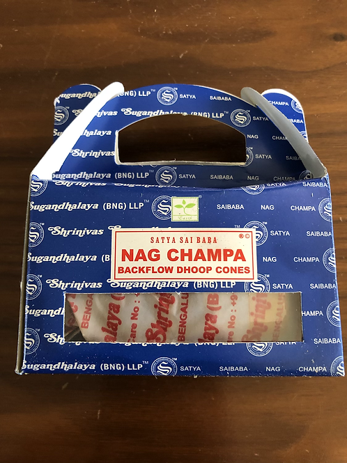 Backflow Cones (Nag Champa)