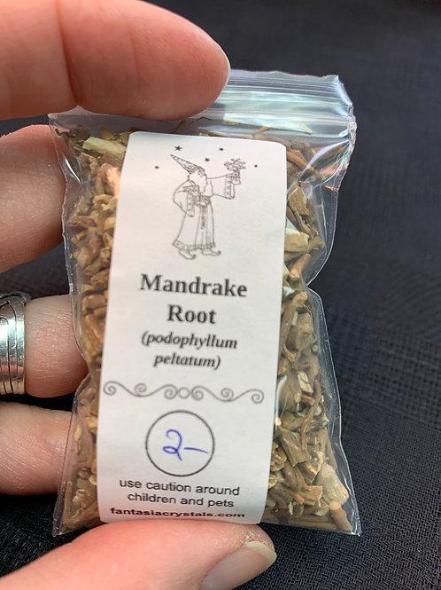 Mandrake Root (mayapple, American)