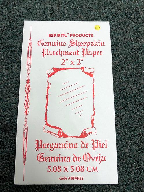 Parchment (sheepskin)