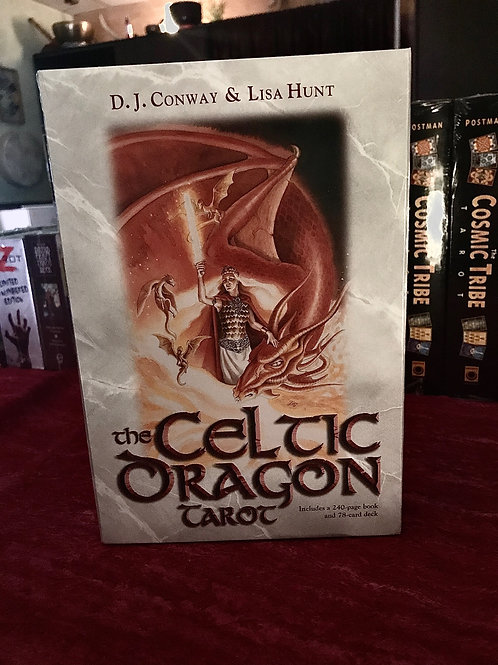 Celtic Dragon Book & Deck Set