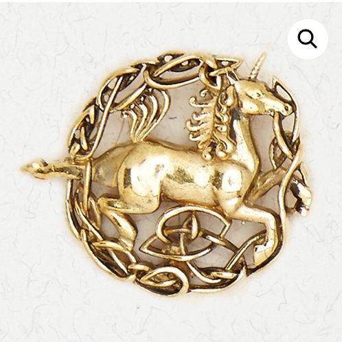 Bronze Unicorn Pendant