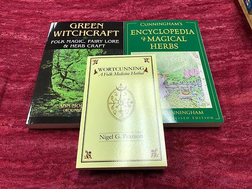 Herb Magick Book Set