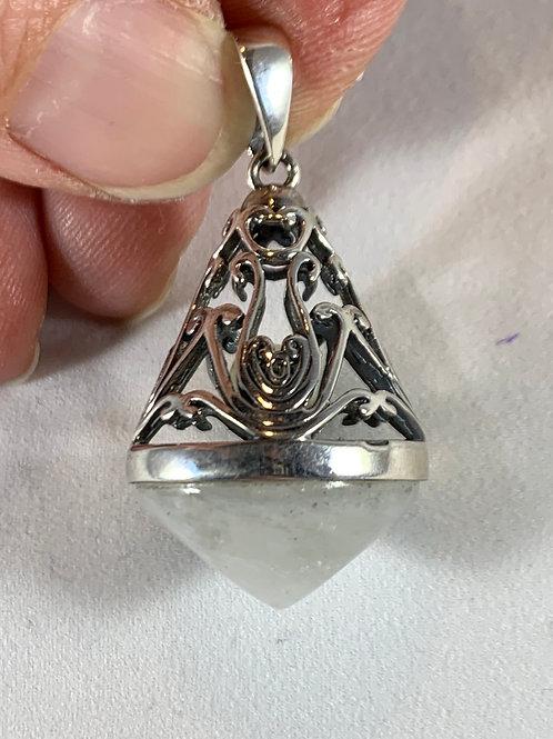 Moonstone Pendant, Filigree (MF6)