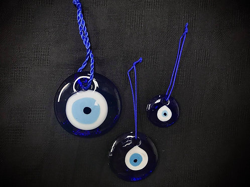 Glass Evil Eye Protection Amulet