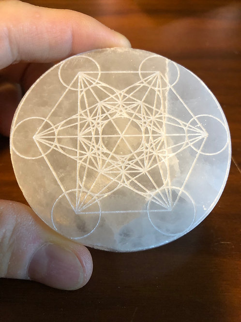Selenite (Metatron's Cube)