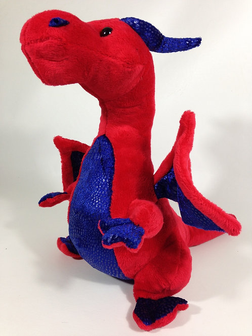 Red Dragon Plush