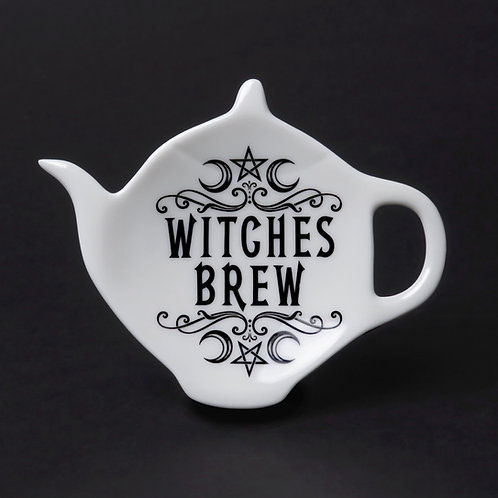 Witches Brew Tea Bag & Spoon Rest