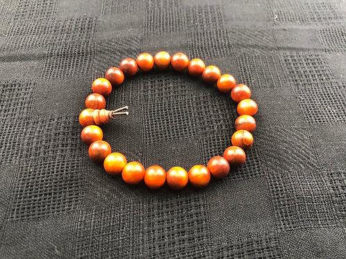 Wood Bracelet (Dragon's Blood)
