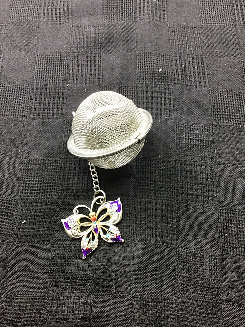 Tea or Herb Strainer (butterfly)