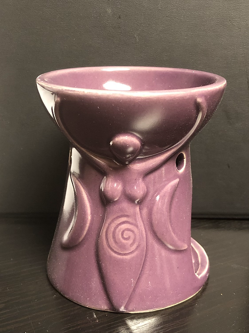 Triple Goddess Oil Burner