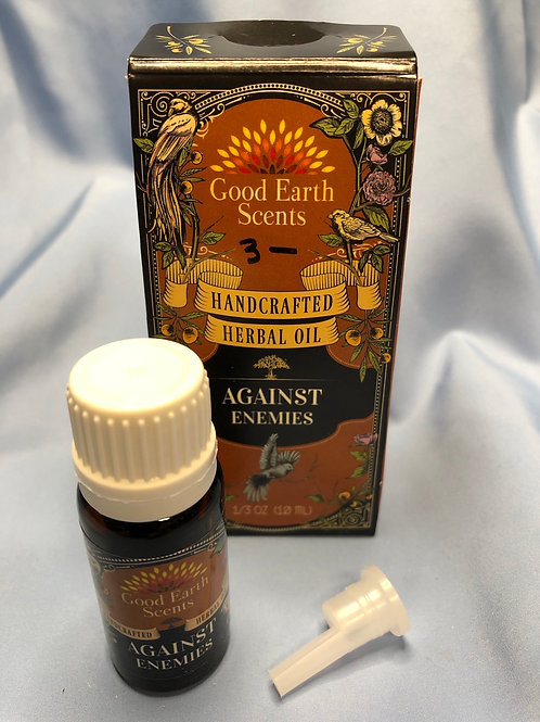 Against Enemies Herbal Oil