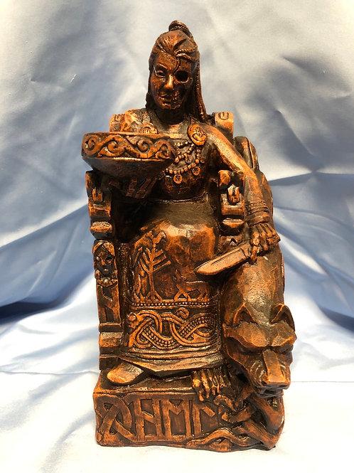Hella (Hel) Statue