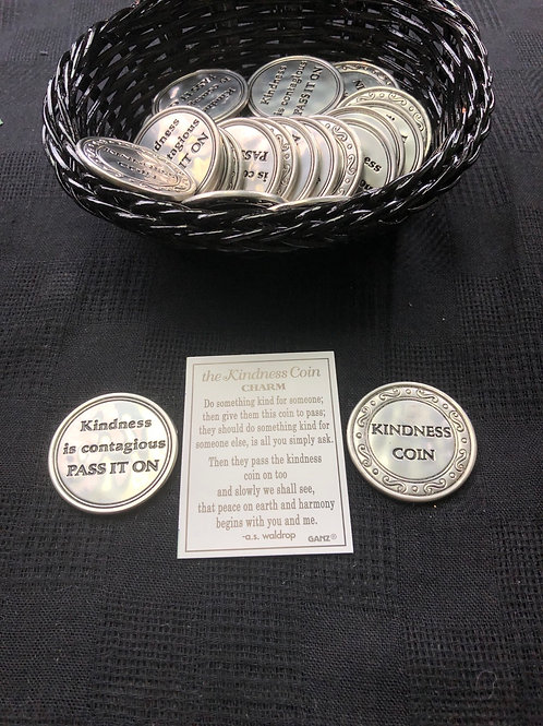 Kindness Coin Charm