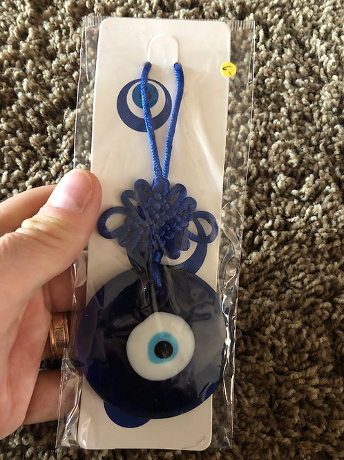 CopGlass Evil Eye Protection Amulet with Knot