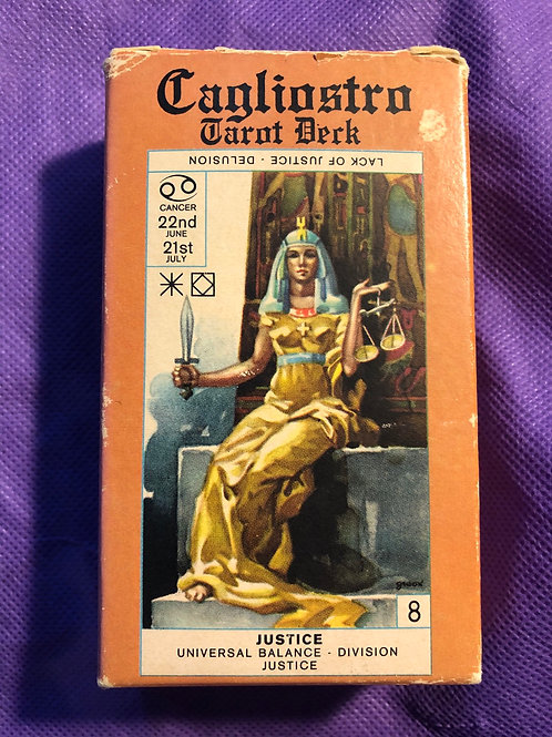 Cagliostro Tarot Deck (out of print)