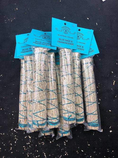 Blue Sage & Frankincense Smudge Bundle