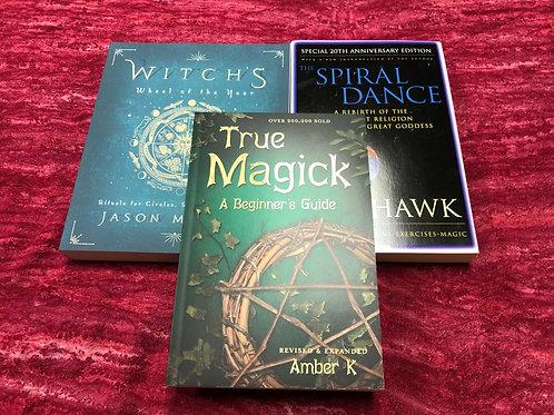 Wiccan Book Set