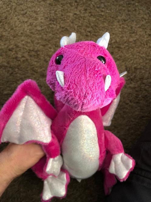 Pink Dragon Plush