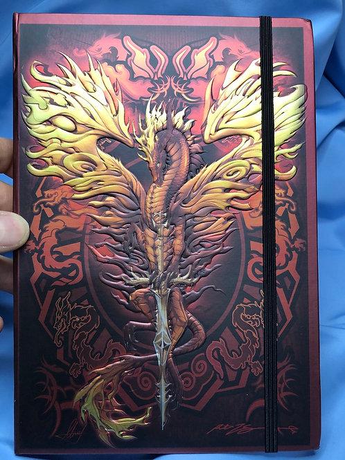 Flame Blade Blank Journal