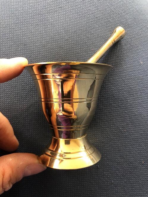 Mortar & Pestle (brass, small)