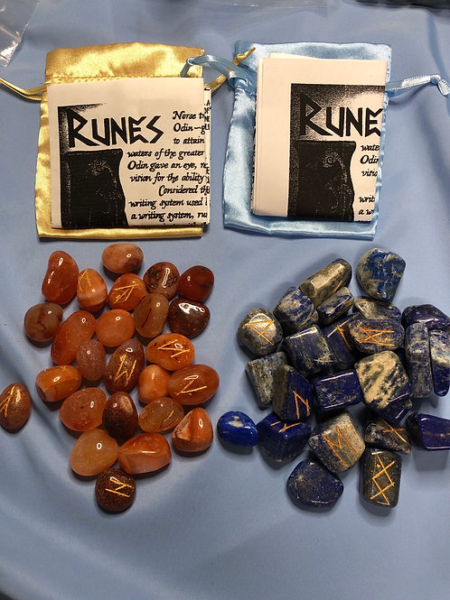 Rune Sets (lots of choices) Elder Futhark