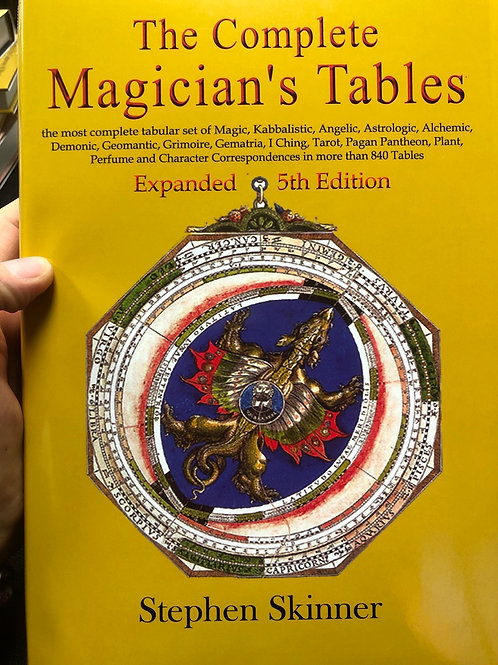 Complete Magicians Tables (hardcover)