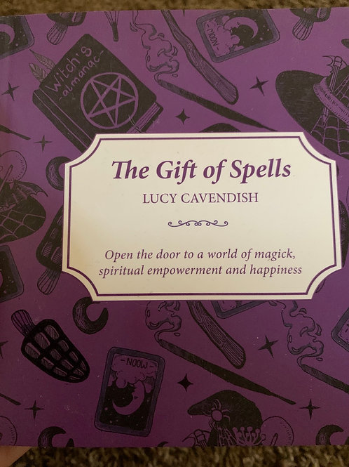 The Gift of Spells Book by Lucy Cavendish