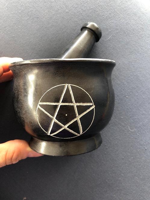 Mortar & Pestle (Pentagram)