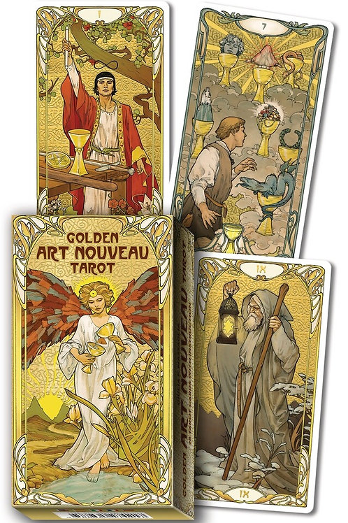 Golden Art Nouvea Tarot