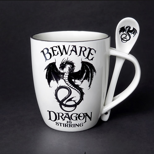 Dragon Mug & Spoon Set