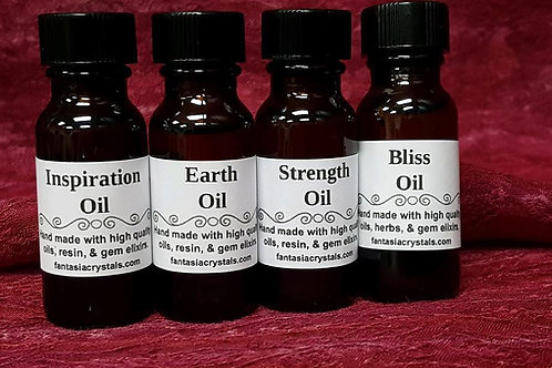 Magickal Oils made by us! Pick your favorite
