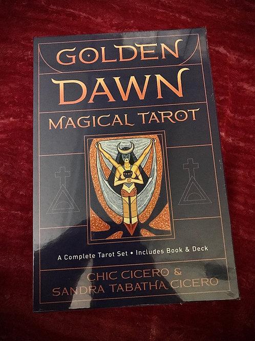 Golden Dawn Deck & Book Set