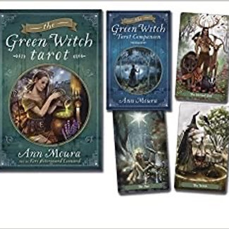 Green Witch Tarot Book & Deck Set