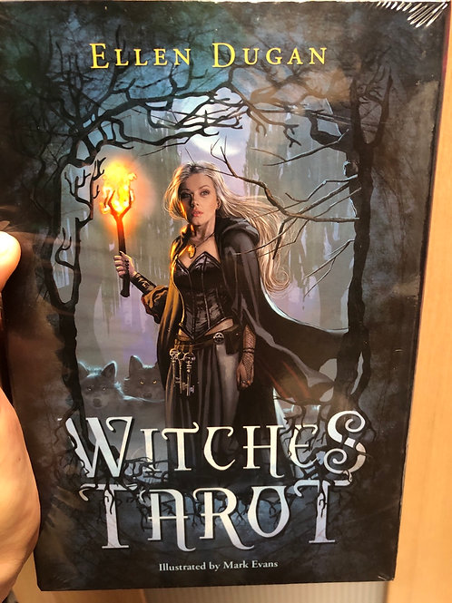 Witches Tarot & Book Set