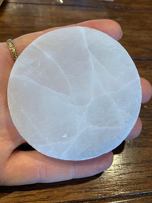 Selenite Charging Plate, Small