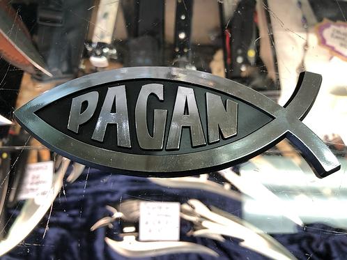 Pagan Fish Car Emblem