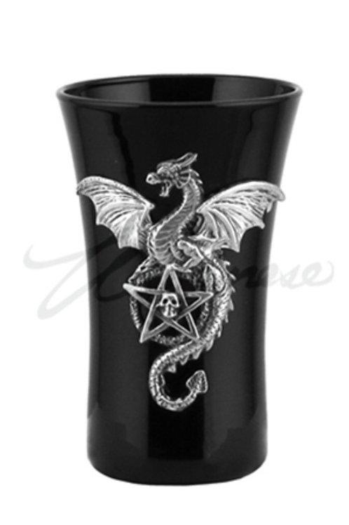 Dragon and Pentagram Shot Glass