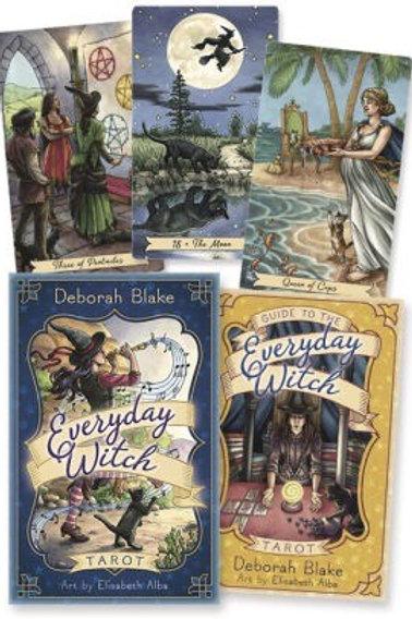 Everyday Witch Tarot Book & Deck Set