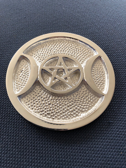 Pentagram & Triple Moon Altar Tile
