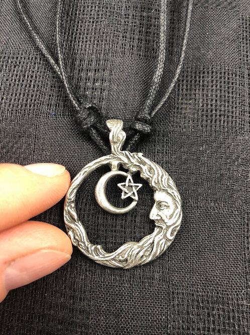 Moon & Star Pendant