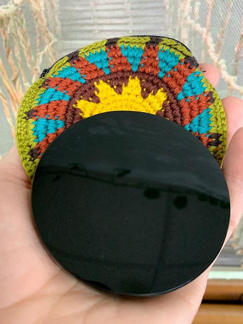 Scrying Mirror (obsidian 3 inch)