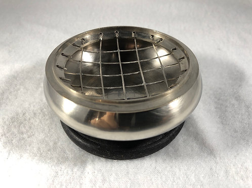 Incense Burner Silvertone Medium