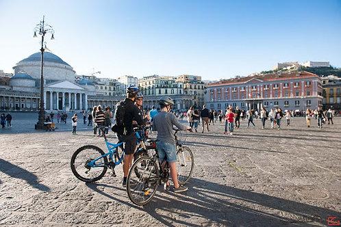 NAPOLI  LIBERTY BIKE TOUR – effettuato con l'utilizzo di biciclette elettriche